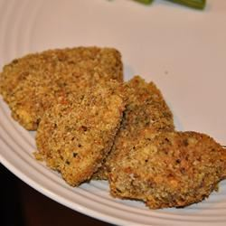 Baked Parmesan-Crusted Chicken LaurenMV