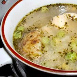 Peruvian Chicken Soup (Aguadito de Pollo) Erimess