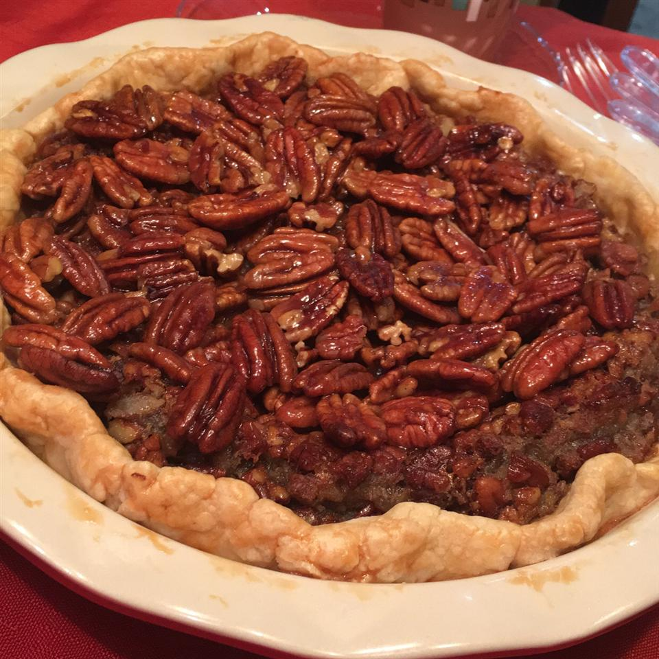 Honey Crunch Pecan Pie - Printer Friendly