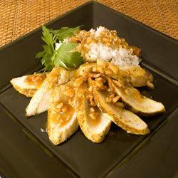 Cashew Crusted Chicken