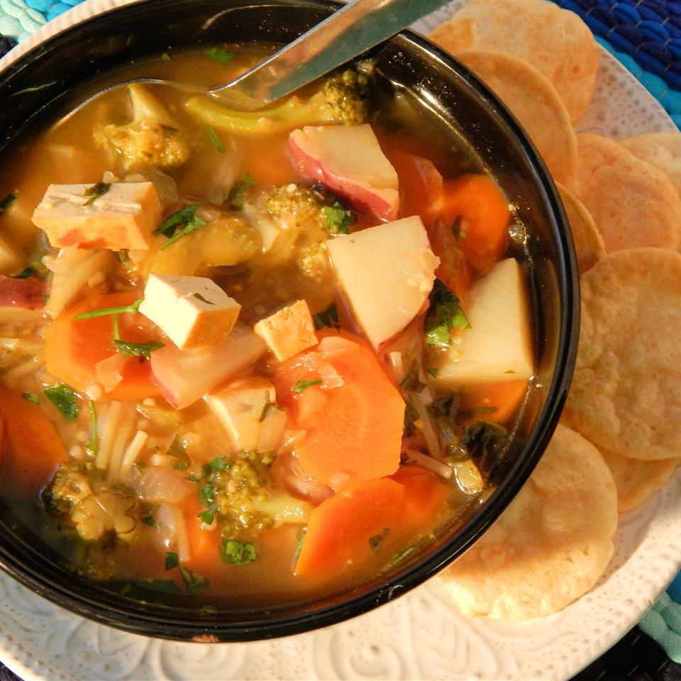 Tofu Noodle Soup Adrienne Clark
