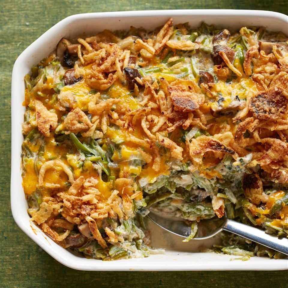 Absolutely Delicious Green Bean Casserole from Scratch_image