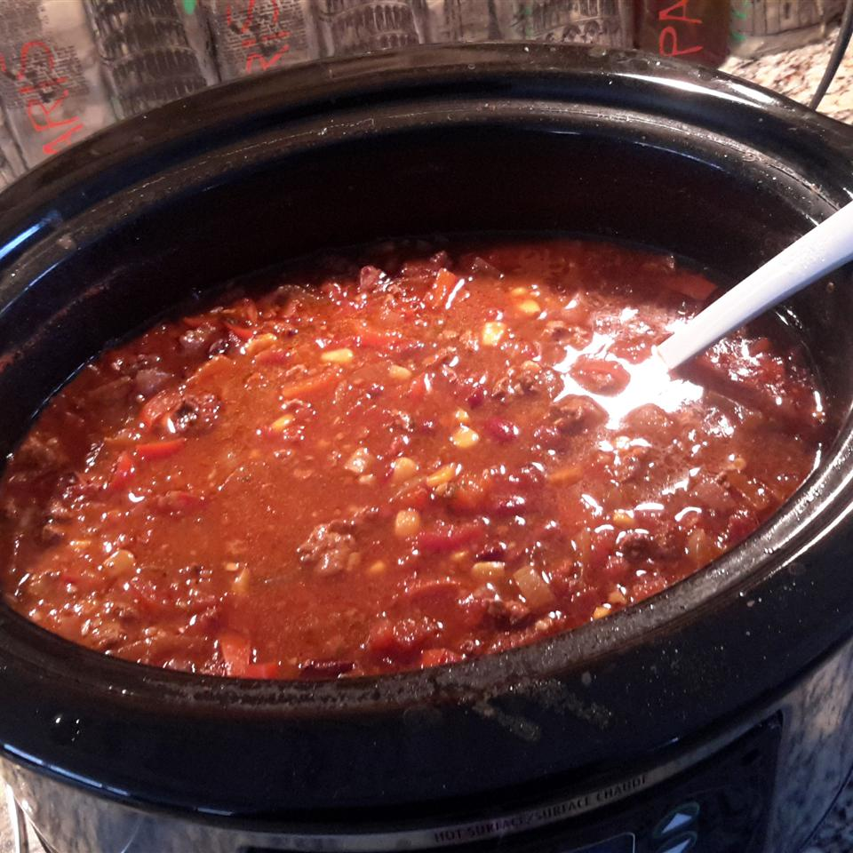 Chad's Slow Cooker Taco Soup - Printer Friendly