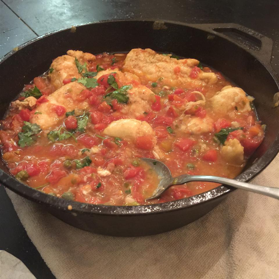 Quick and Easy Chicken Piquant teresacaine