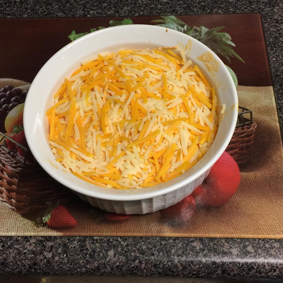 Buffalo Ranch Chicken and Cheese Dip