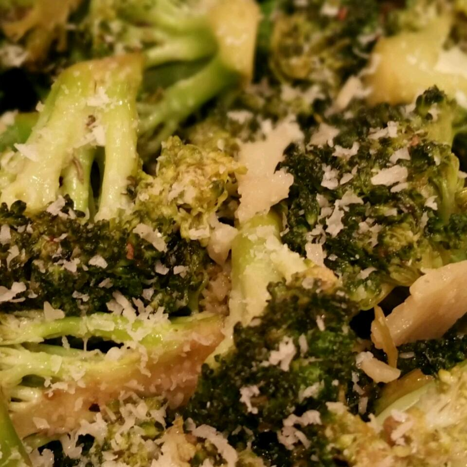 Grilled Broccoli--My Kids Beg for Broccoli CristalM