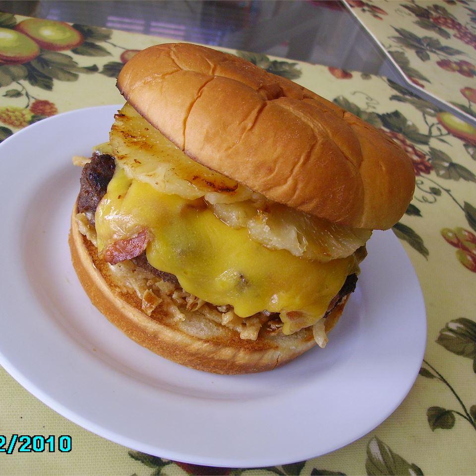 Hawaiian Belly Buster Burgers Christina