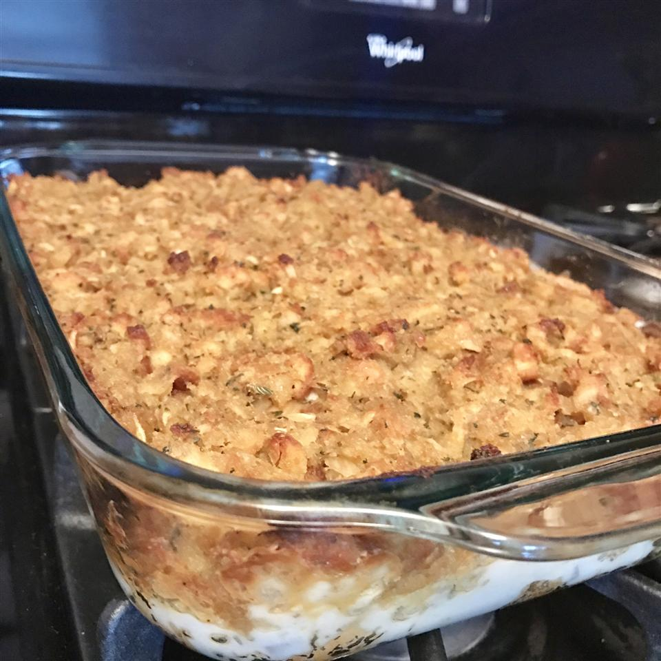 Rotisserie Chicken and Stuffing Casserole Recipe