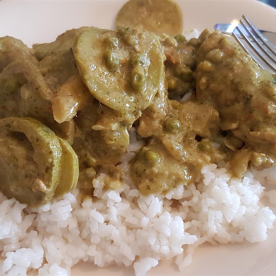 Green Coconut Chicken Gil Michaeli