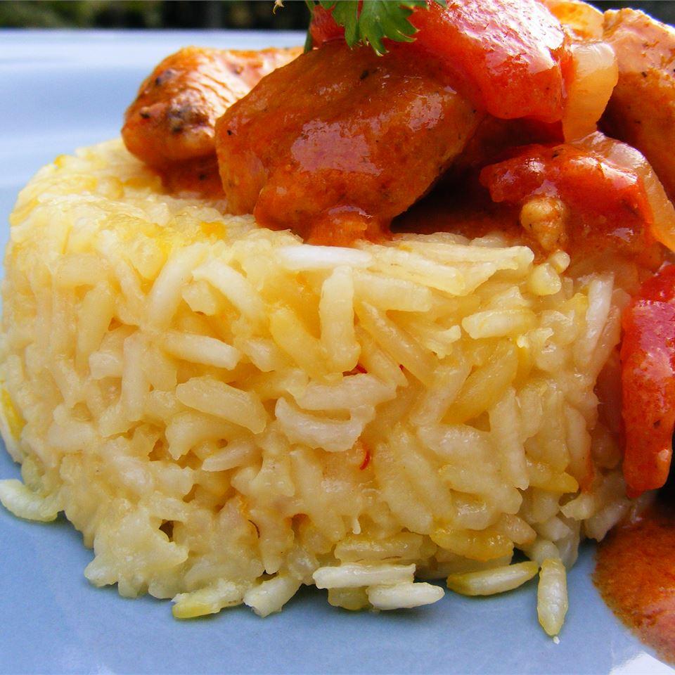 Indian Saffron Rice image
