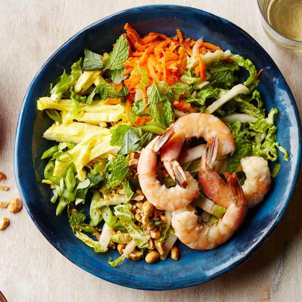 Shrimp Pad Thai Salad Hilary Meyer