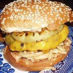 Hawaiian Belly Buster Burgers inuyasha211