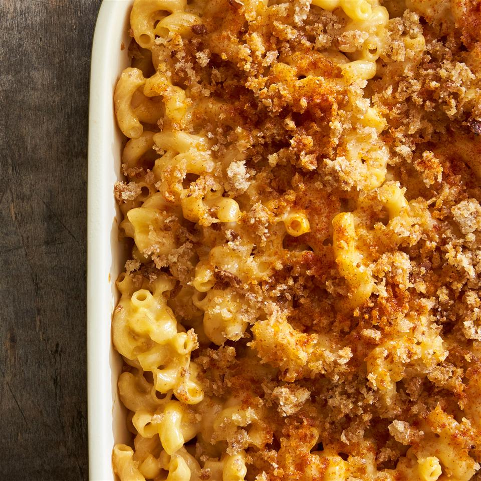 Healthier Homemade Mac and Cheese