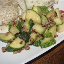 Zucchini and Pecan Saute Catlin