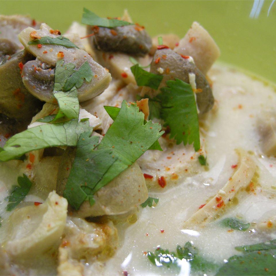 Tom Ka Gai (Coconut Chicken Soup) sopenia