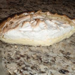 Lemon Meringue Icebox Pie