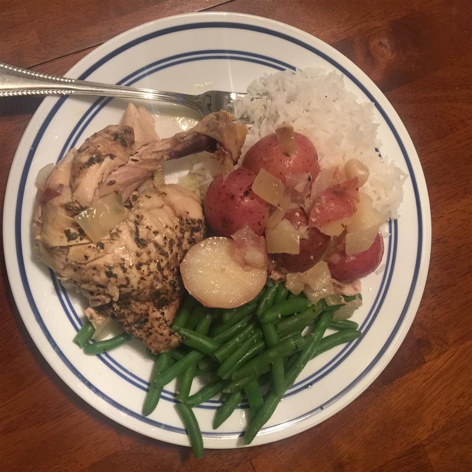 Greek Slow Cooker Chicken Jameel Zanayed