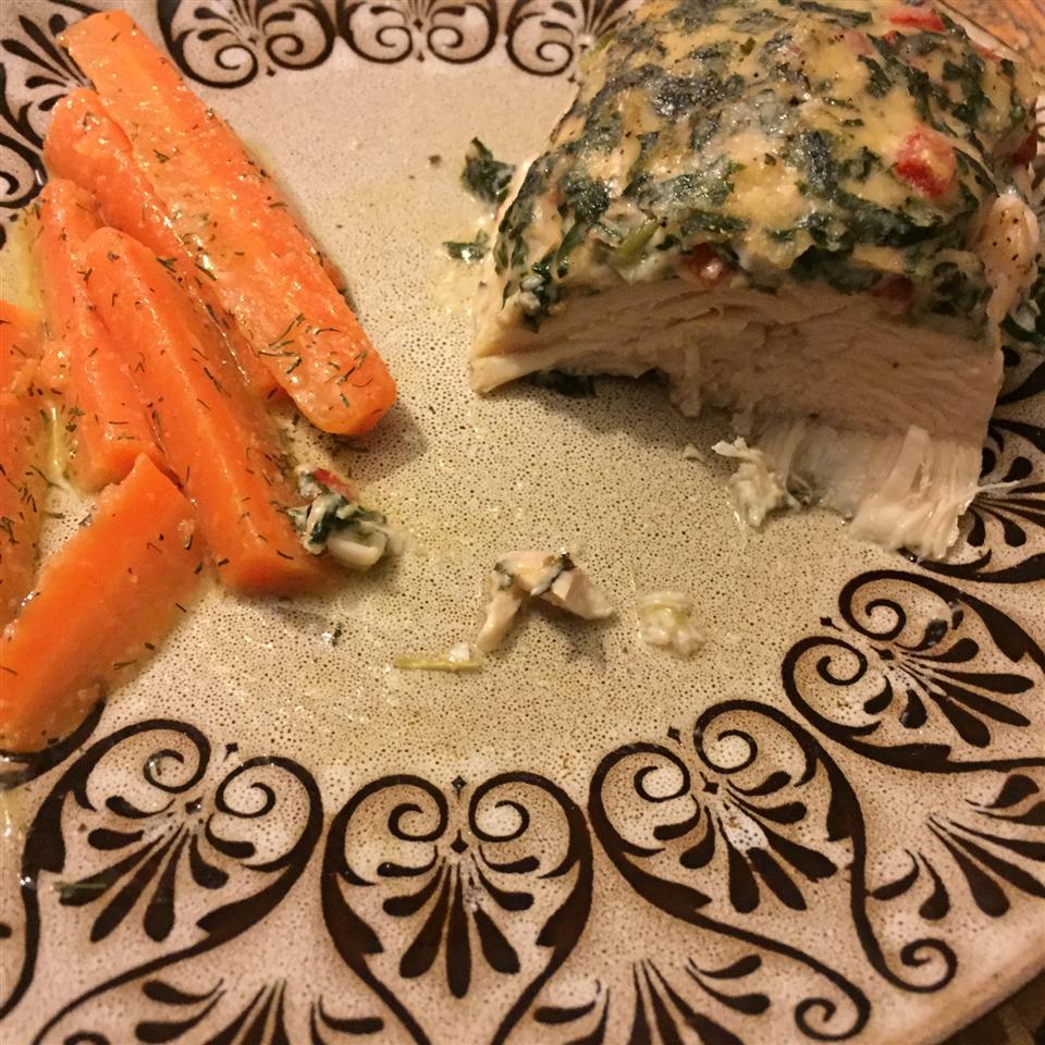 Spinach Chicken Parmesan Krystal