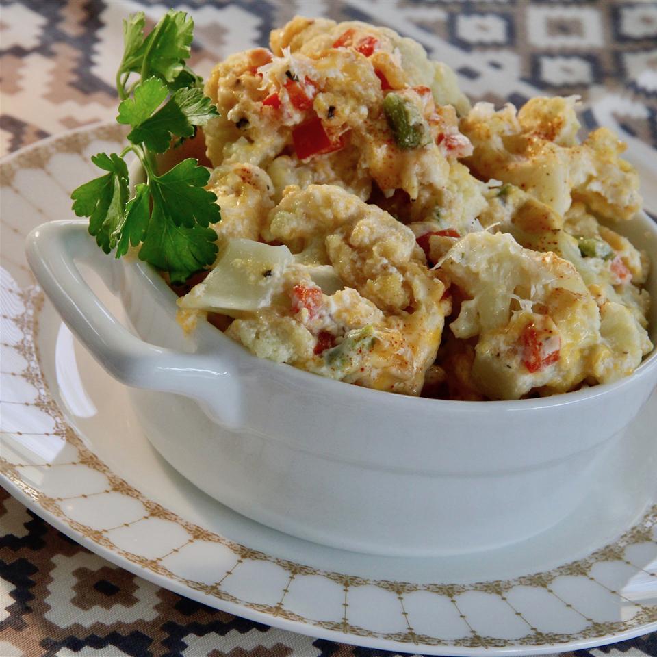 Cheesy Cauliflower Casserole