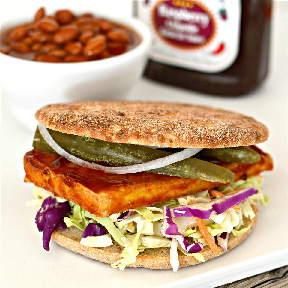 Grilled Tofu Sandwich Filling