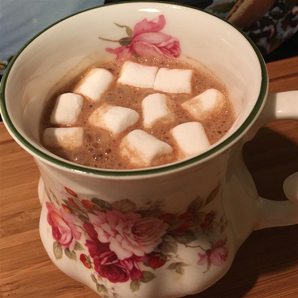 Almond Butter Hot Chocolate Megan Olson