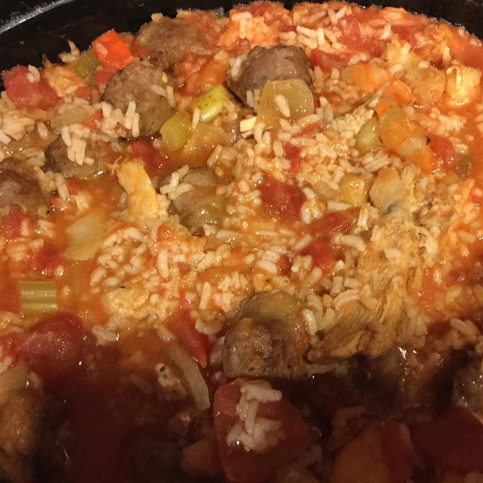 Shrimp and Sausage and Chicken Gumbo