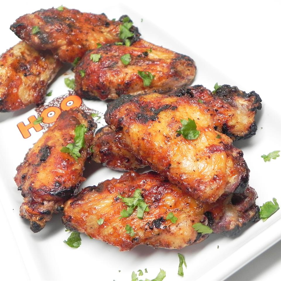 3-Ingredient Baked BBQ Chicken Wings Recipe