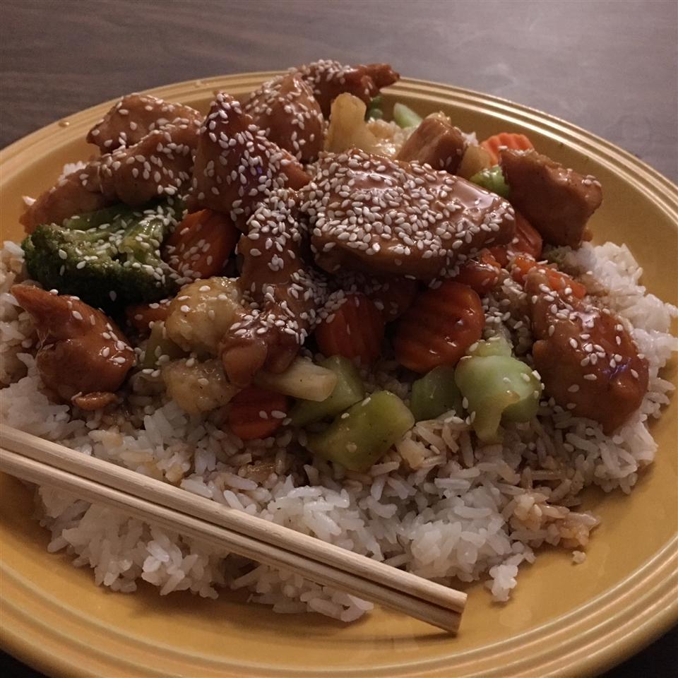 Oven Baked Chicken Teriyaki