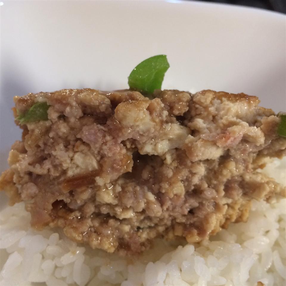 Glazed Tofu Meatloaf