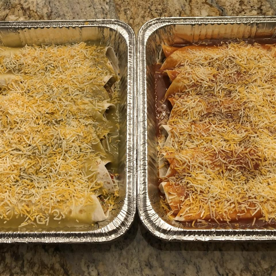Sweet Pork Enchiladas