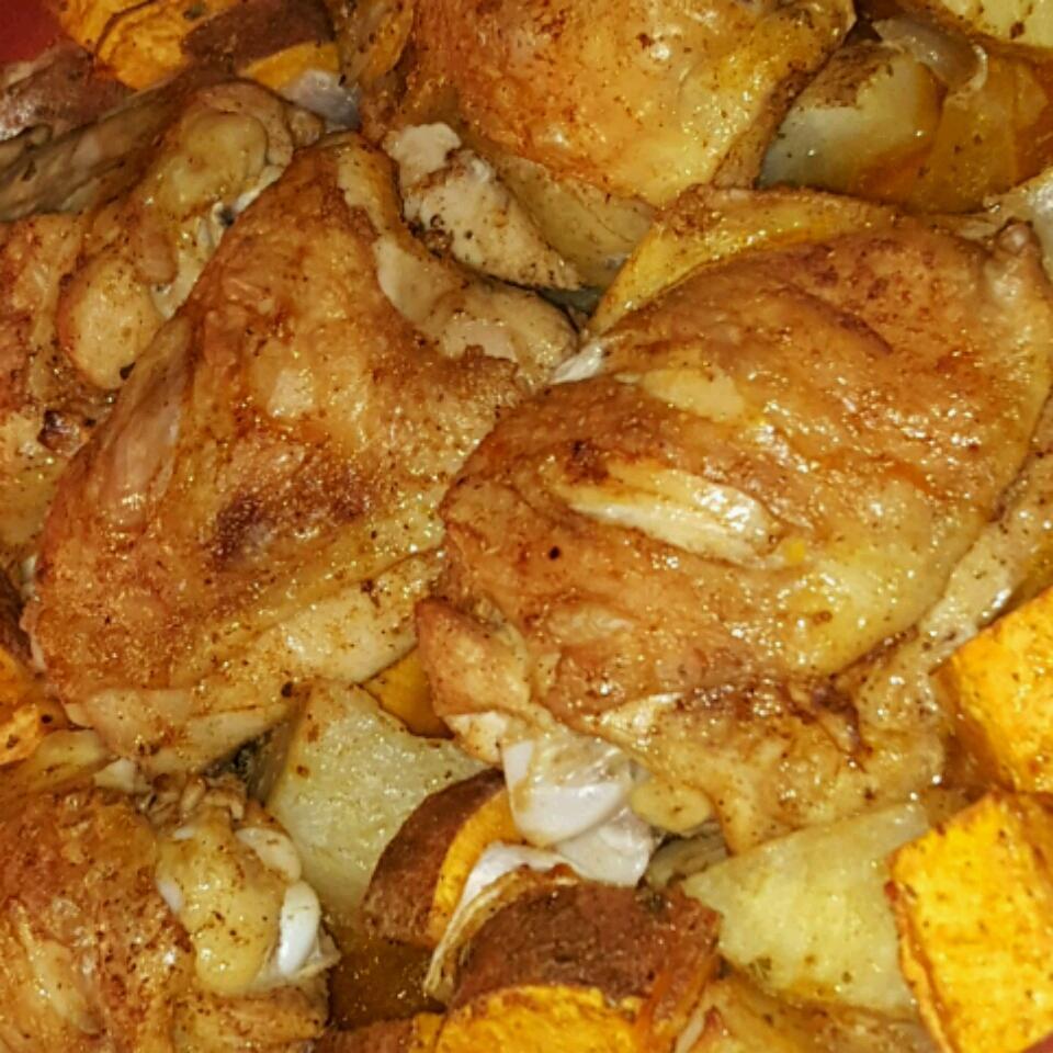 Chicken Sweet Potato Skillet Winston R Gonzalez