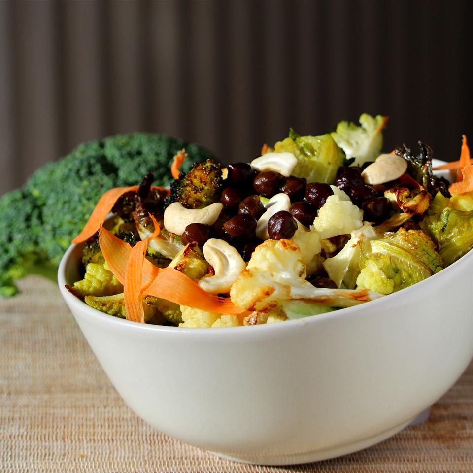 Broccoli Cauliflower Chickpea Bowl