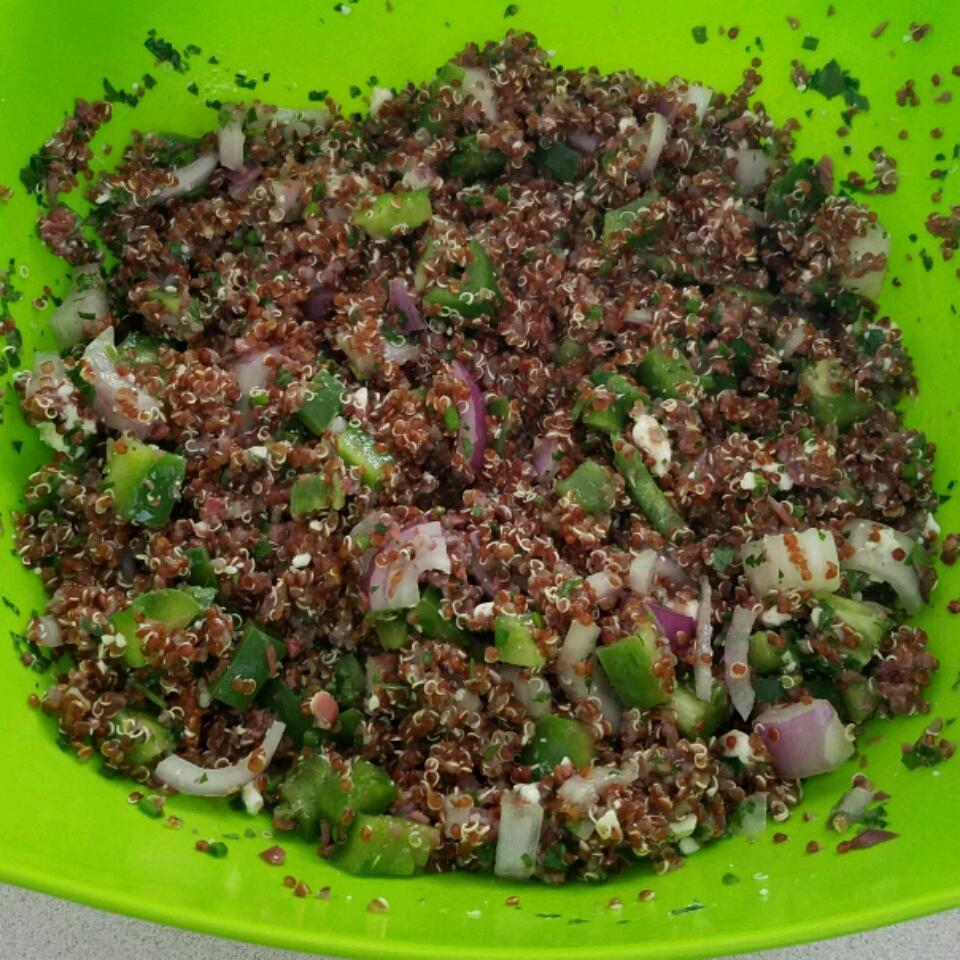 Mediterranean Quinoa Salad jamied