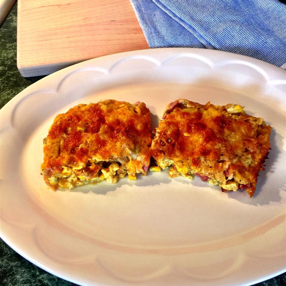 Ham and Corn Bake - Easy and Yummy!