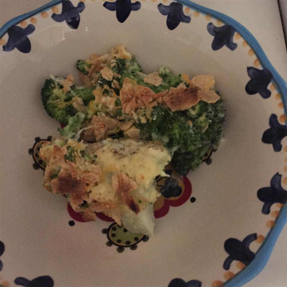 Cheesy Cauliflower and Broccoli Gratin Kami DeManche Mogensen