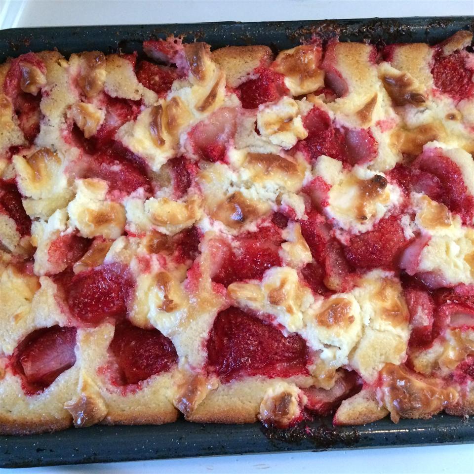Strawberry Cream Cheese Cobbler_image