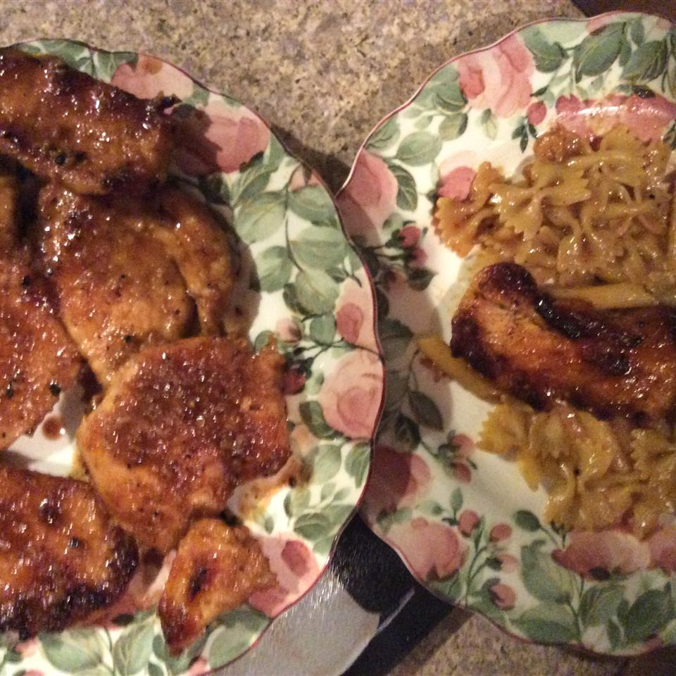 Chicken Piccata with Angel Hair Pasta A Mama's dinner menu