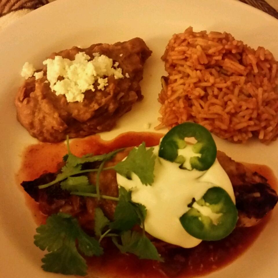 Quick and Easy Mexican Chicken Jeff