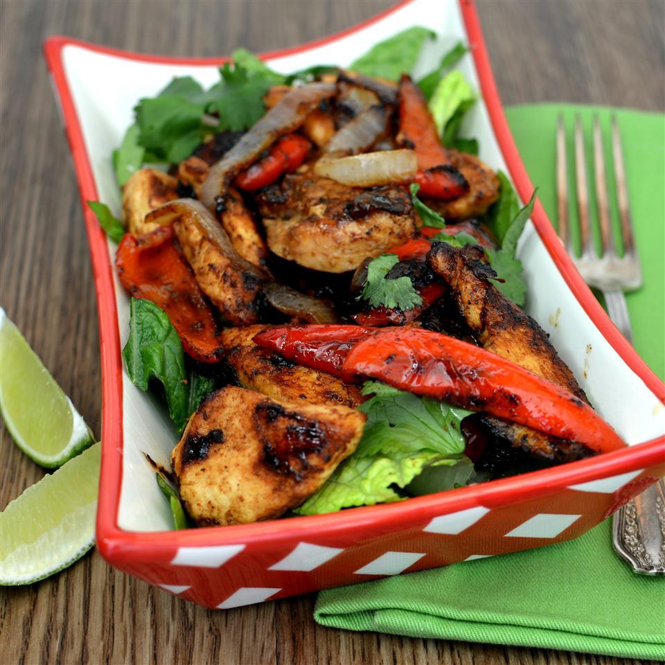 Grilled Chicken Fajita Salad Recipe