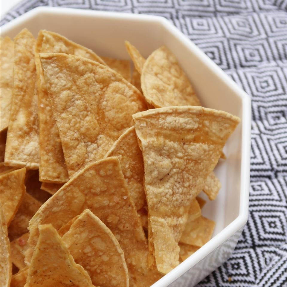 Baked Tortilla Chips Recipe Allrecipes