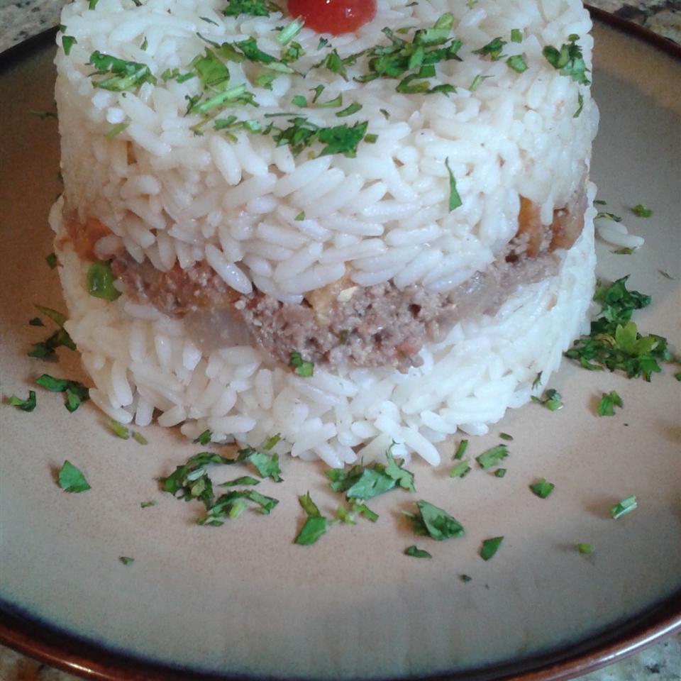 Arroz Tapado (Rice-On-Top)