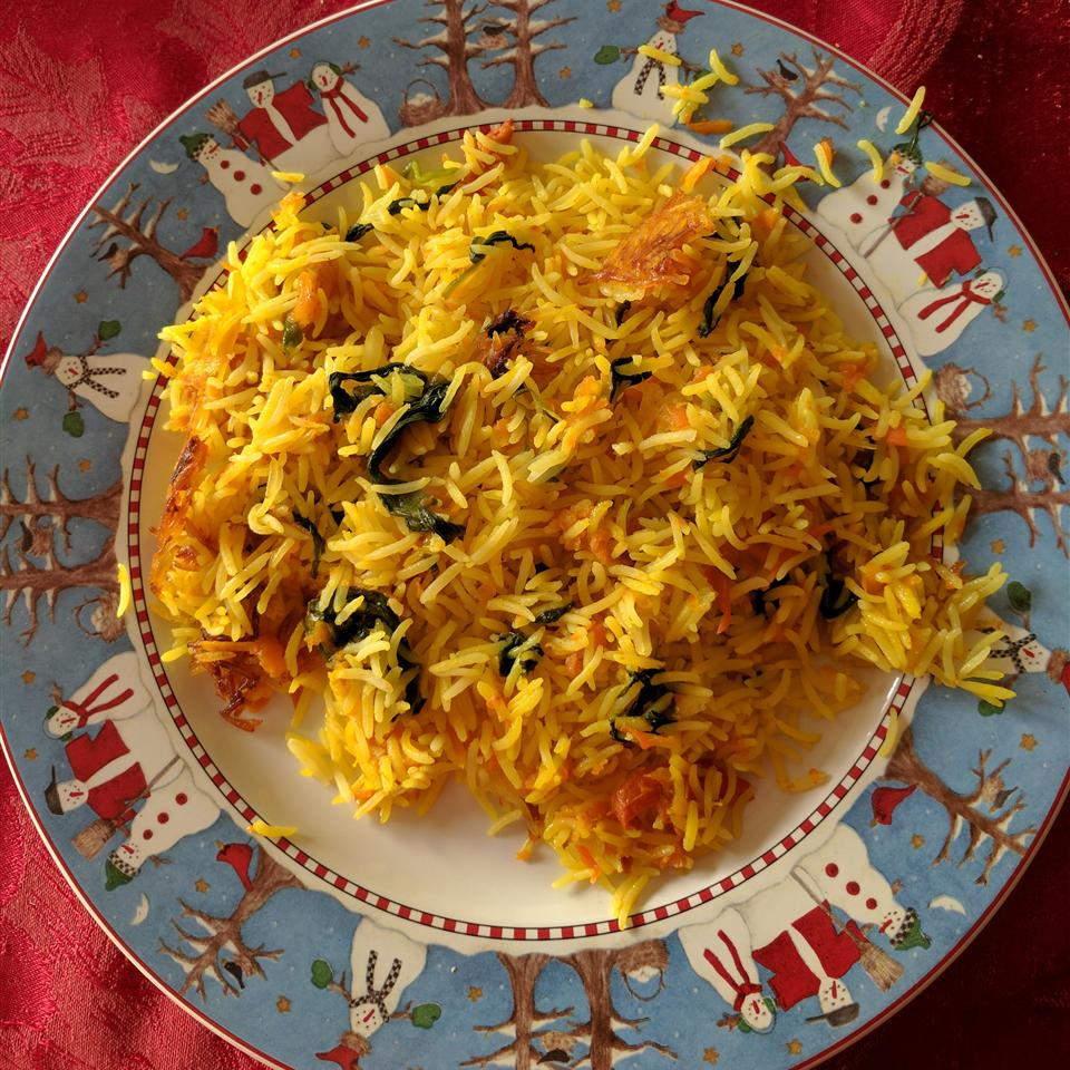 Quick and Easy Spinach Rice (Palak Rice)