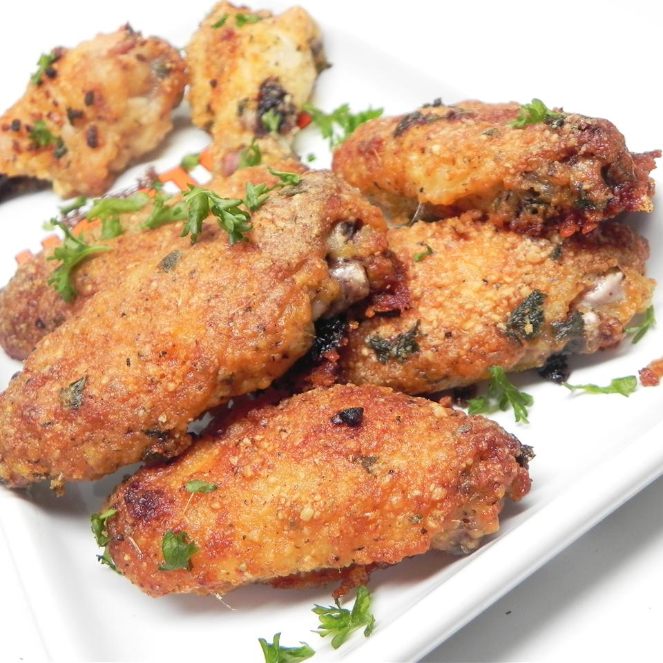 Awesome Crispy Baked Chicken Wings MARKANDANGIE