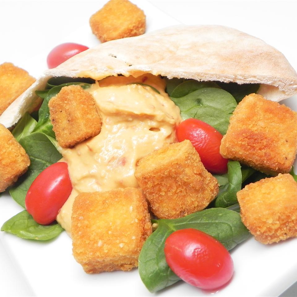 Cheez-It(R) Fried Tofu Pita Pocket