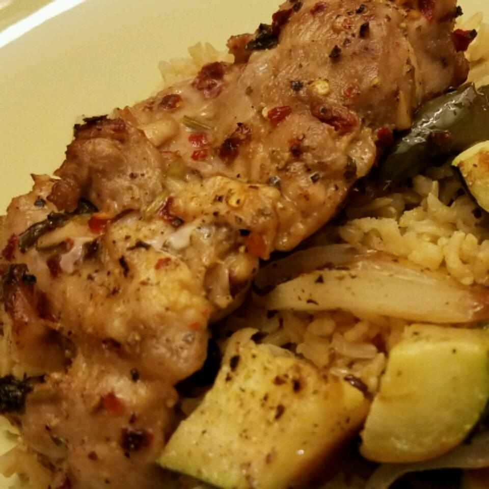 Greek Lemon Chicken and Potato Bake Sultan Khan