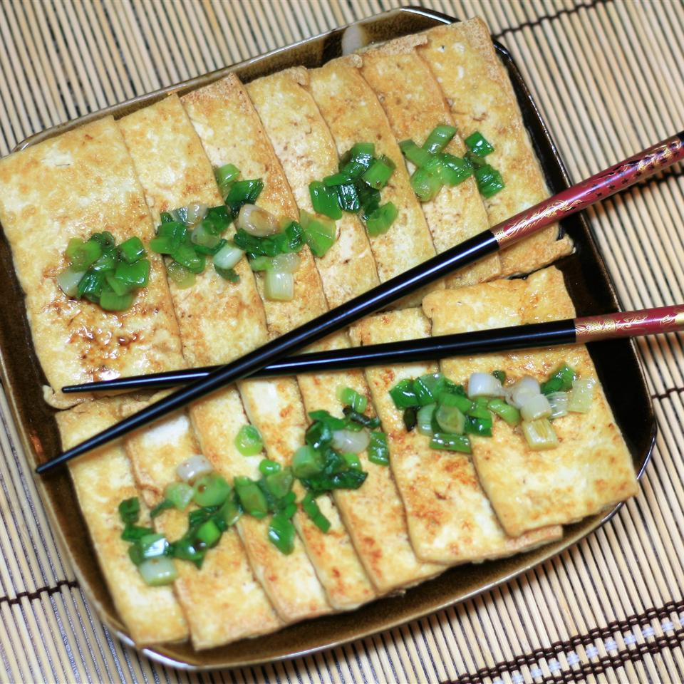 Simple Pan-Fried Tofu