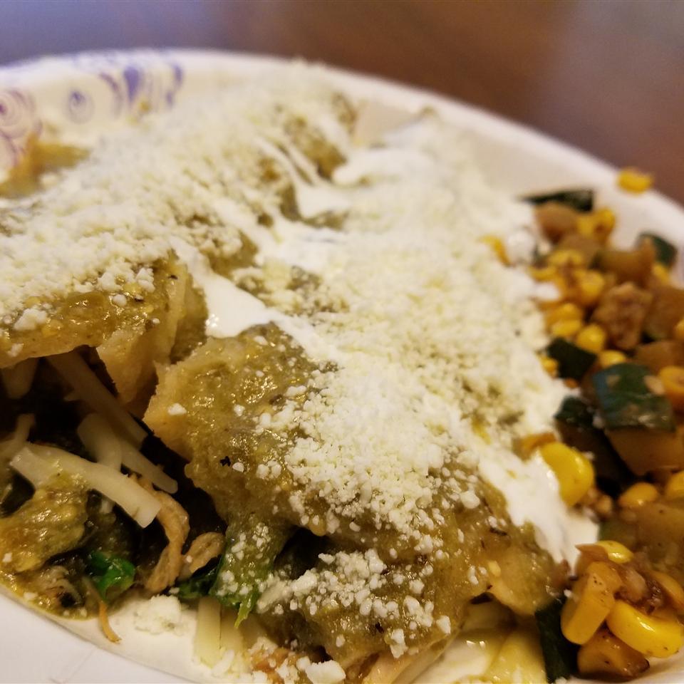 Enchiladas Verdes Grace