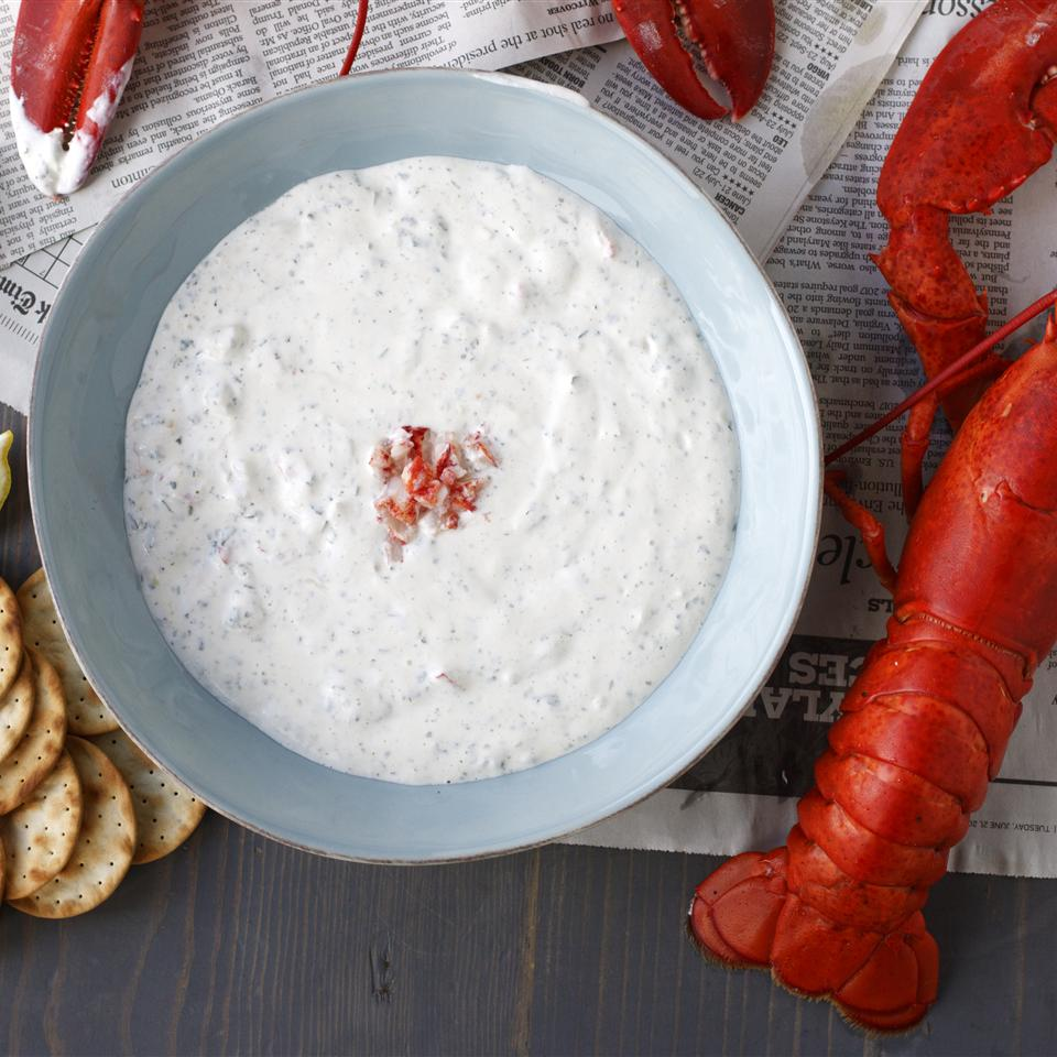 Maine Lobster & Spinach Dip