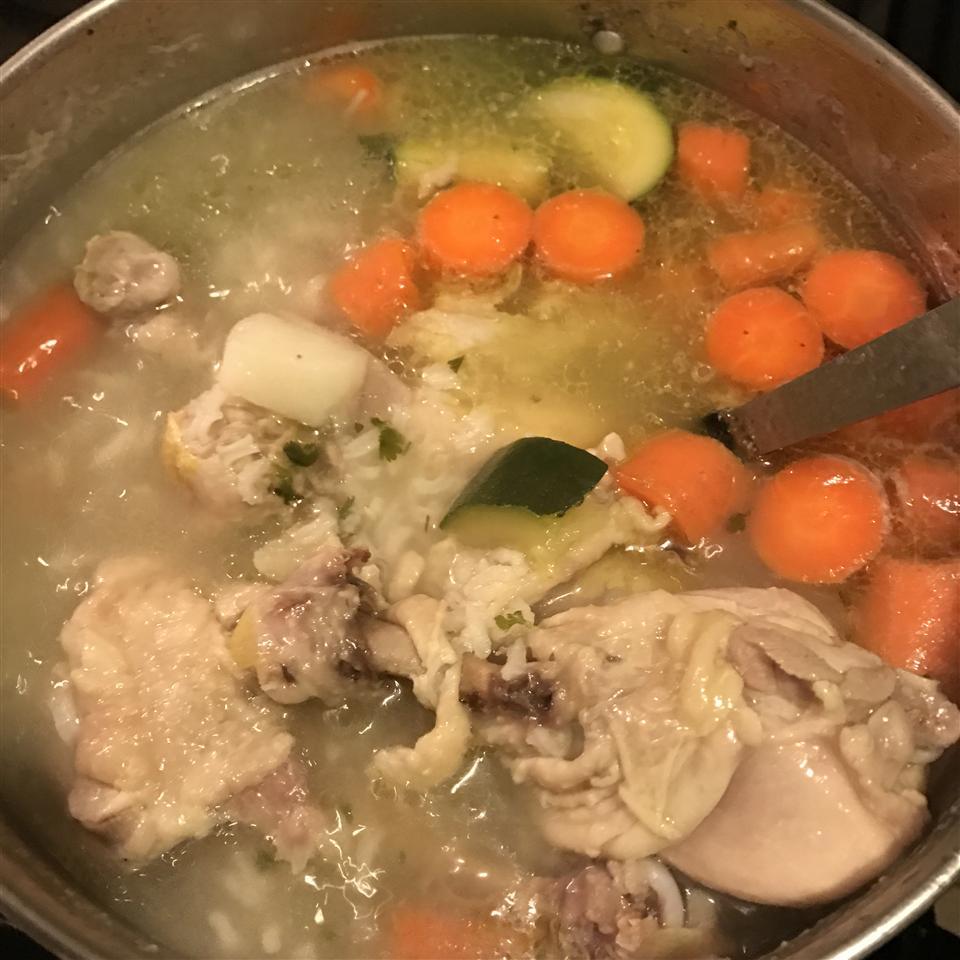 Caldo De Pollo (Mexican Chicken Soup) Nance Quezada