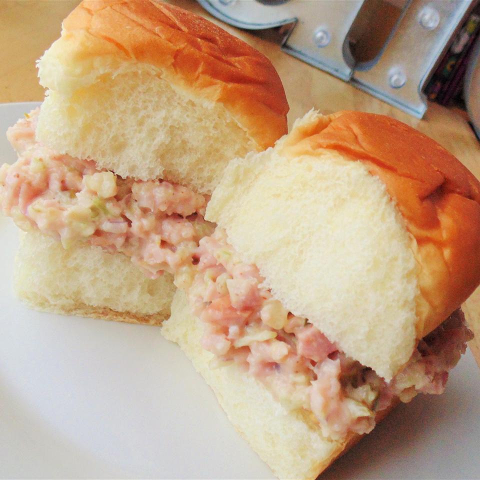 Cajun Ham Salad Sandwiches Karen Barris Calabro